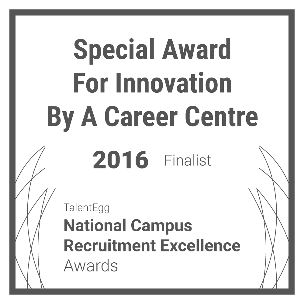 Career Centre Innovation Award