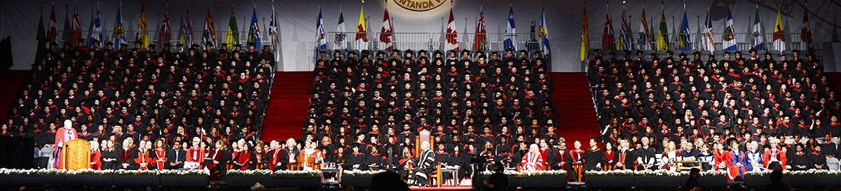 York U Convocation Ceremony