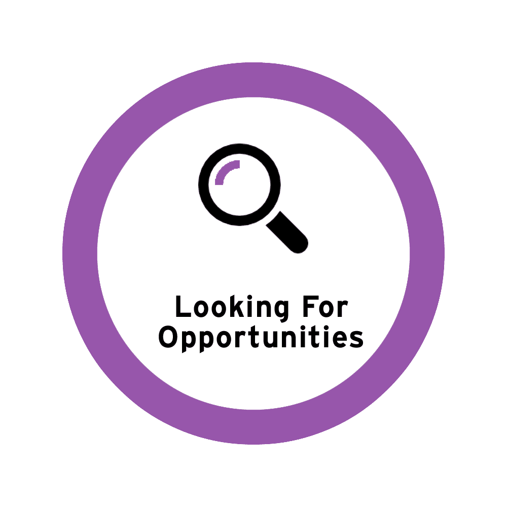 Looking for opportunities icon