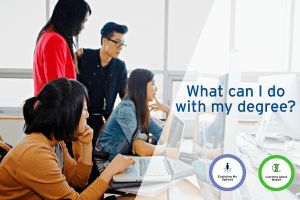 What Can I Do With My Degree? (Webinar) @ Online (URL will be provided in the email confirmation)