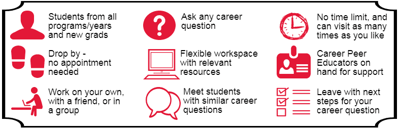 What to expect at the Career Lounge