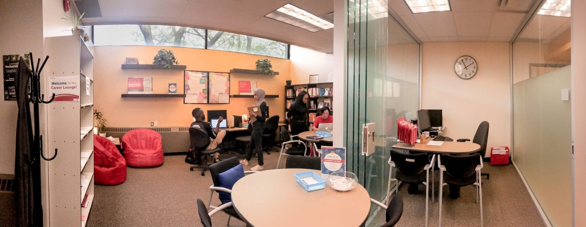 What to expect at the Career lounge - Meet Career Peers and ask any Career-related questions!