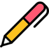 Icon shows a pen