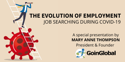Logo for the evolution of employment: Job earching during covid 19