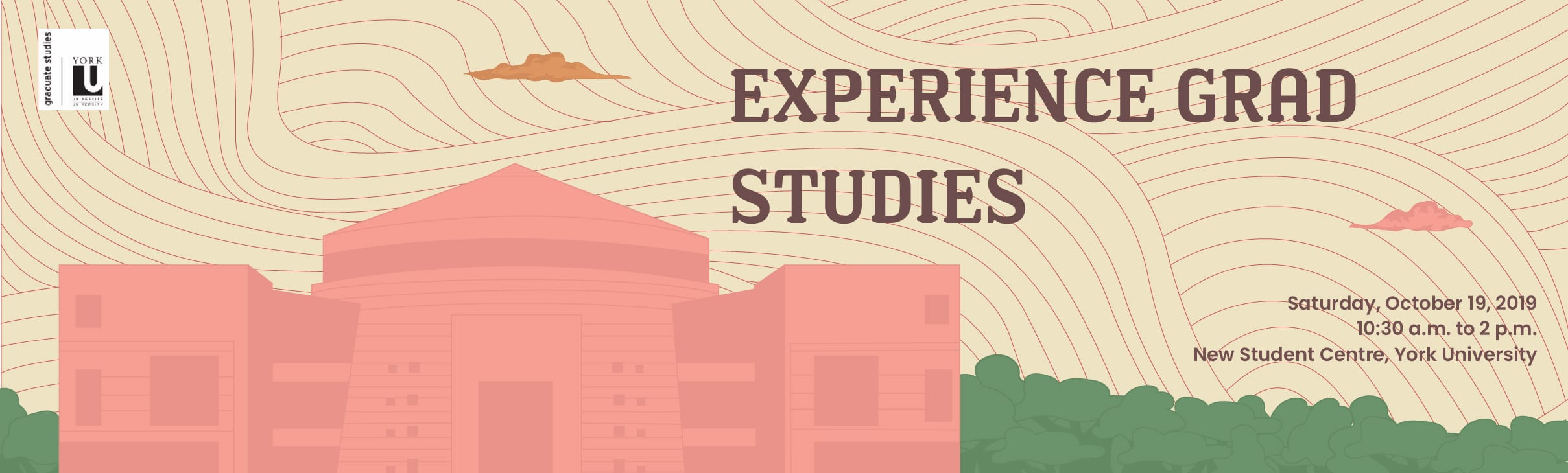 FGS Event: Experience Grad Studies @ The Second Student Centre