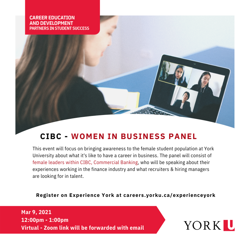 CIBC - Women in Business Panel