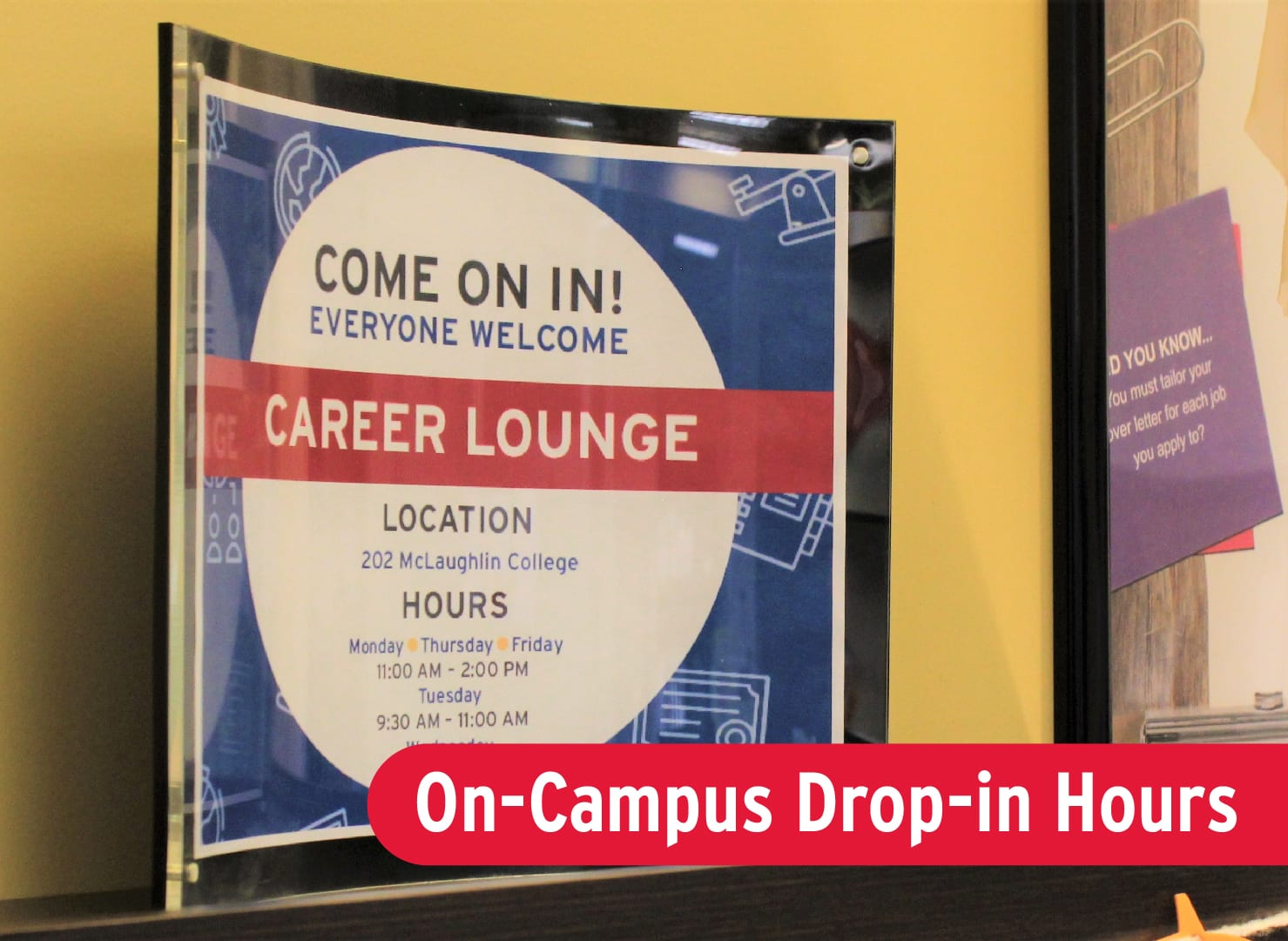Career Centre Drop-in Hours
