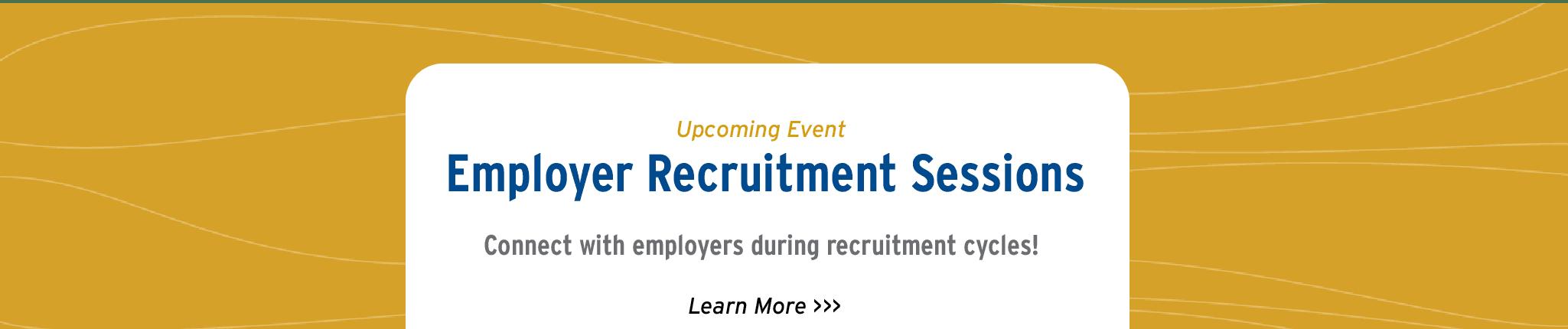Recruitment Sessions