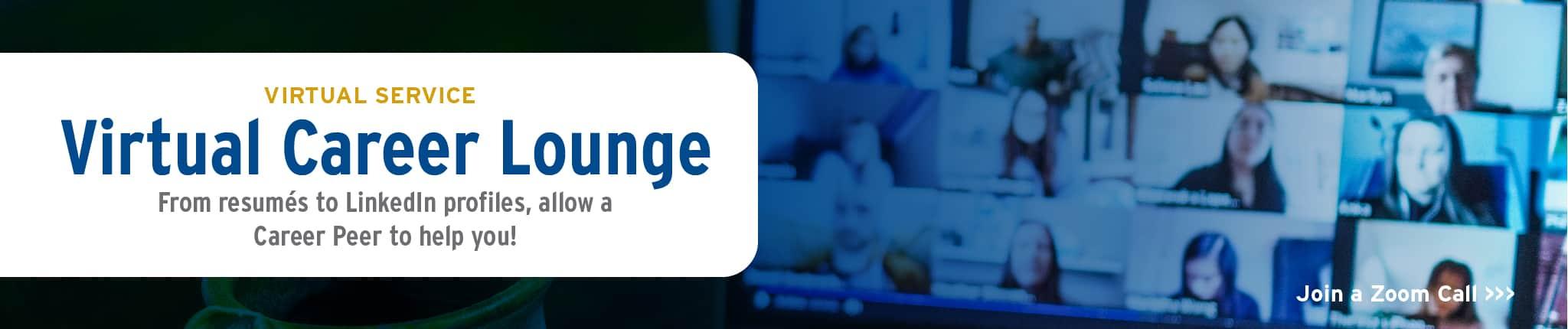 Virtual Career Lounge