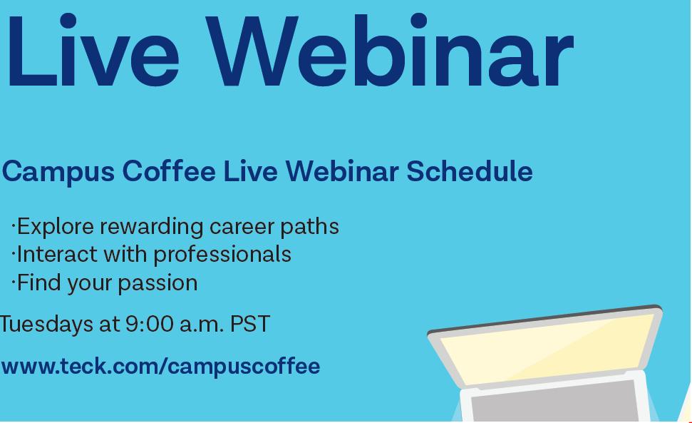 Teck Campus Coffee Live Webinar